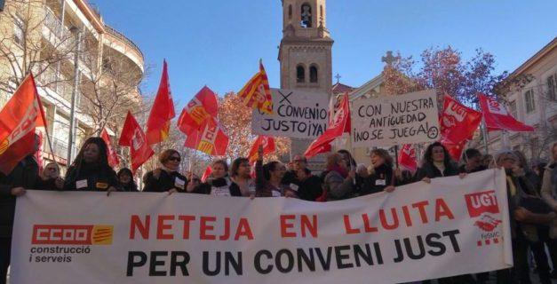 Continua bloqueado el convenio de limpieza de edificios y locales