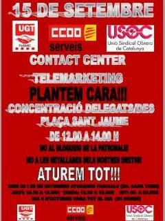 El sector de Contact Center inicia movilizaciones por el bloqueo del convenio tras 21 meses de negociaciones