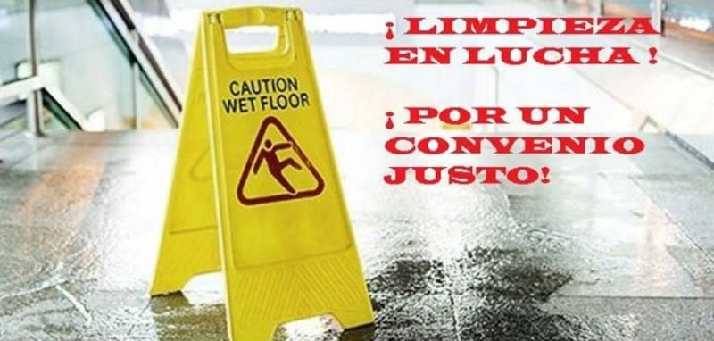 UGT y CCOO convocan 5 días de huelga en el sector de limpieza de edificios y locales de Catalunya