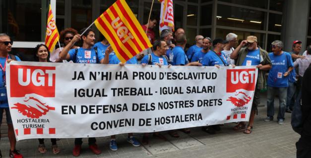 UGT firma el preacuerdo del Convenio de Hostelería de Catalunya