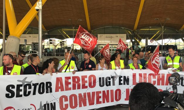 Álvarez: la huelga en los aeropuertos es contra la precariedad