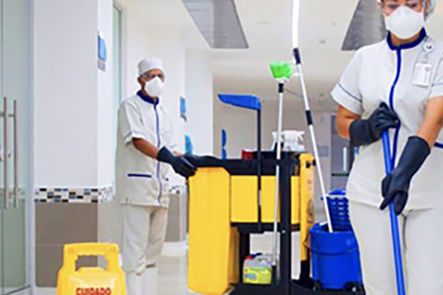 UGT reclama que se incluya el personal de limpieza de los centros sanitarios en la compensación económica anunciada por la Generalitat para el personal sanitario